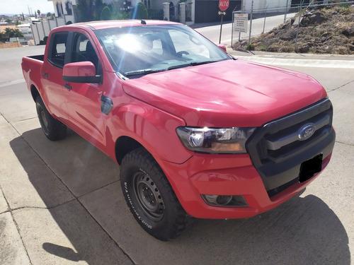 camioneta ford ranger xl gas crew cab 2017