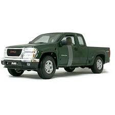 camioneta gmc canyon 2004 esc 1/18 maisto