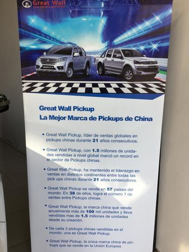 camioneta great wall wingle 5 - pick up dc std