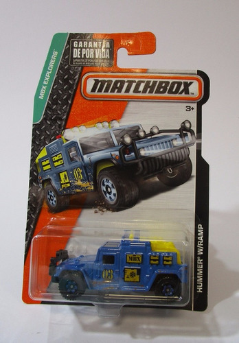 camioneta hummer escala 7cm largo coleccion matchbox 1/64