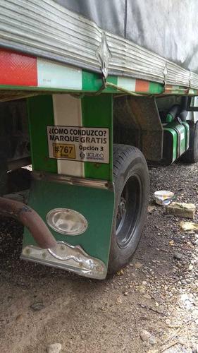 camioneta hyundai porter diésel 2 ton. estacas