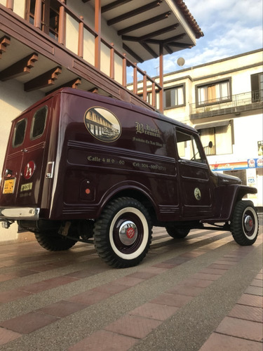 camioneta jeep willys