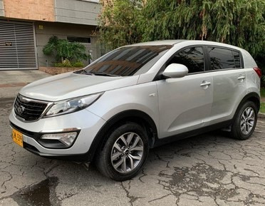 camioneta kia new sportage lx motor 2.0 2016 plata 5 puertas