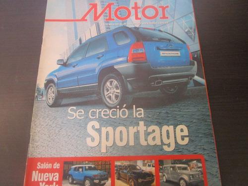camioneta kia sportage revista coleccion año 2005