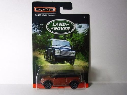 camioneta land range rover evoque coleccion escala matchbox