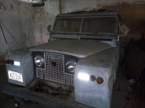 camioneta land rover 1965 (negociable)