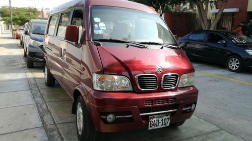 camioneta marca dong feng año 2011 - 11 pasajeros 30,000 kms