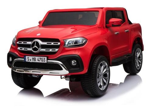 camioneta mercedes - benz  unica en chile rojo y negro
