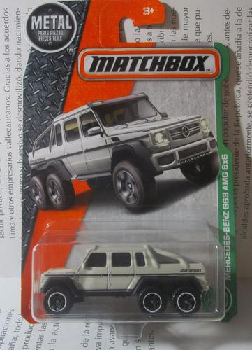 camioneta mercedes escala 7cm largo de coleccion matchbox