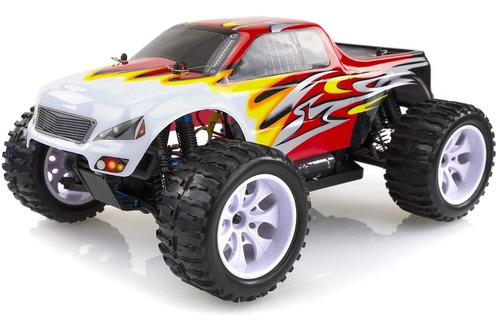 camioneta  monster rc 4x4 radiocontrol 1/10 hsp 94111 rtr