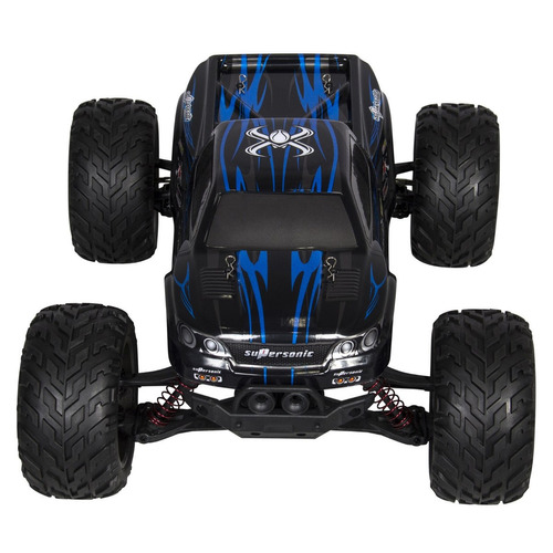camioneta monster truck rc, escala 1/12, 2.4 ghz. un volador
