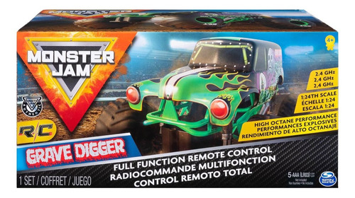 camioneta monstruo a control remoto escala 1:24 monster
