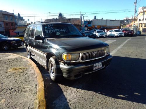camioneta  montanier 98 4x4 t/p  negra, toda prueba.