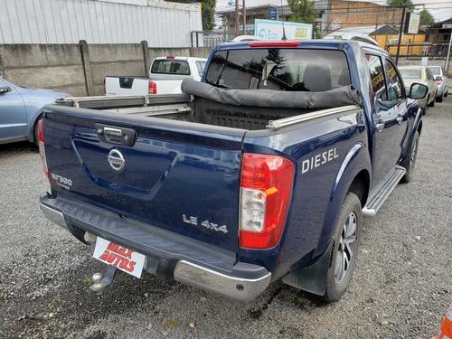 camioneta nissan np300 azul 2016, precio no incluye iva