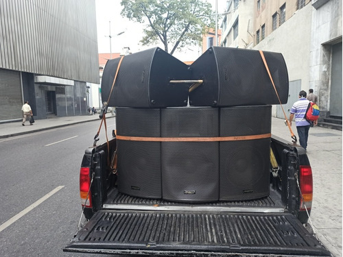 camioneta perifoneo sonido móvil ruta acústica