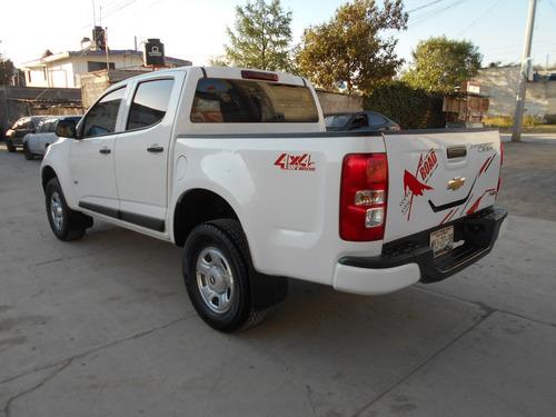 camioneta pick up chevrolet s10 doble cabina 4x4, mod. 2016