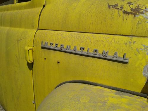camioneta pick-up marca international 1958 para restaurar