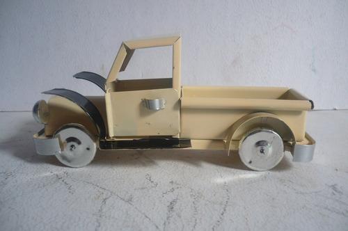 camioneta pickup - camioncito de lamina - juguete antiguo