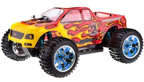 camioneta rc hsp 94111 top 2 brushless 4x4 80km 1/10 rtr