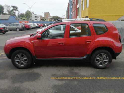 camioneta renault - duster, full 4x4 roja