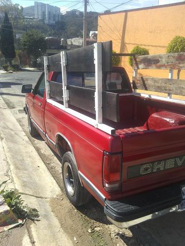 camioneta s10, modelo 1991, automática seis cilindros,