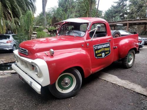 camioneta studebaker 1960 v8 clasico charliebrokers