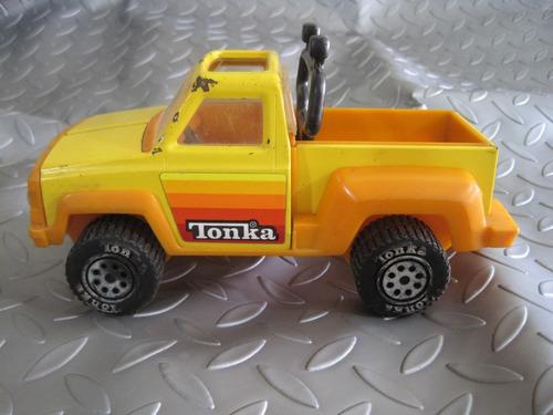 camioneta tonka corp hojalata original 1979 antigua