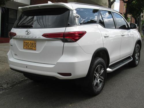 camioneta toyota fortuner 2017 gasolina traspaso inmediato