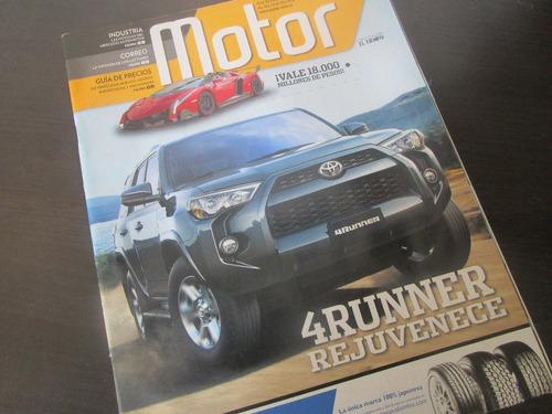 camioneta toyota runner revista coleccion año 2013