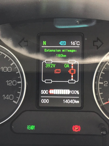 camioneta zhongtong 100 % electrica 7 pasajeros
