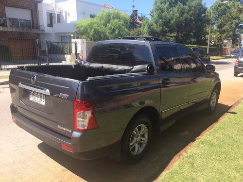 camionetaza ssangyong como nueva 2014 34.000 km usd 24900