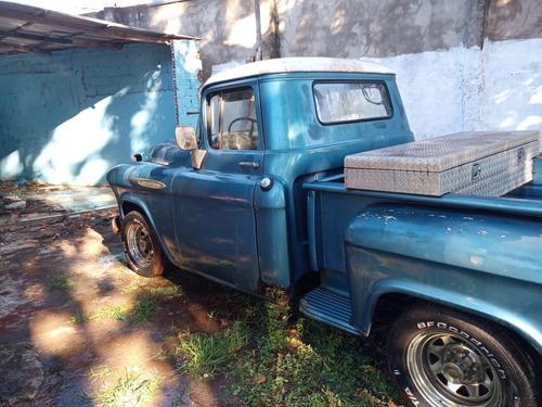 camionete chevrolet apache modelo 6500 ano 1957 brasil