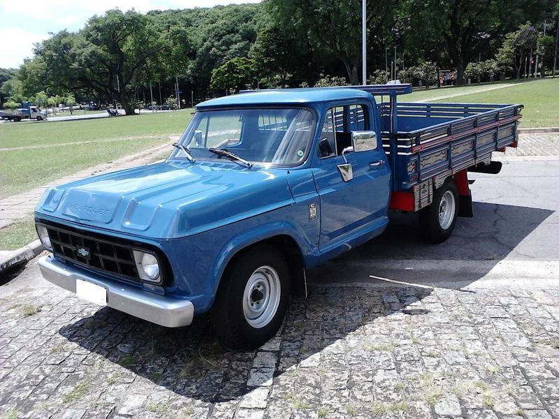 camionete chevrolet brasil c-10