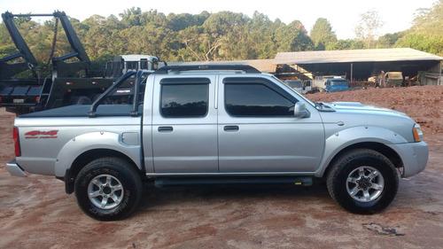camionete- frontier- 4x4- ano 2007- troco por carro novo.