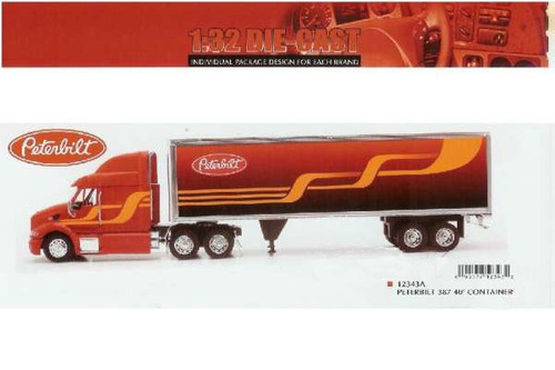 camion`peterbilt 387 escala 1:32