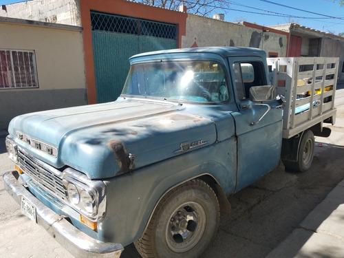 camiponeta clasica ford 1959