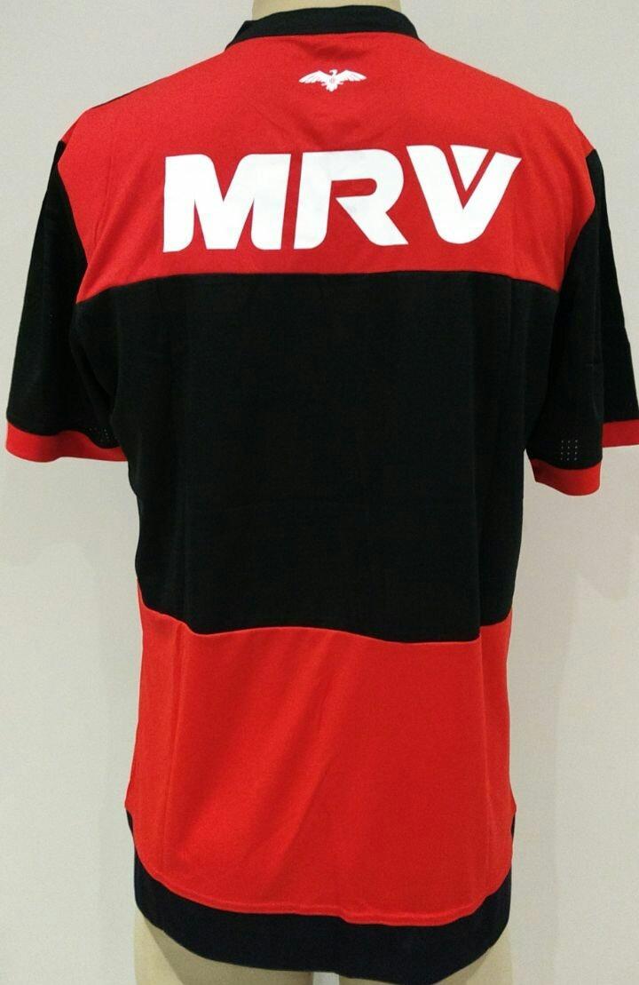 camisa 1 flamengo 17 18. Carregando zoom. 940b557e36bea