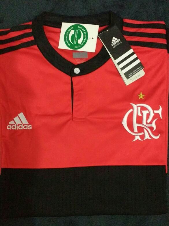 Camisa 1 Flamengo 17 18 - R  150 38ecb7704d22f