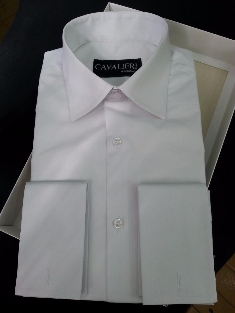 d8b0f2cbbc Camisa 100% Algodão Fio 80 Punho Simples E Duplo. 42 Cores - R  230 ...