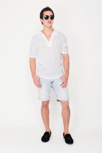 camisa 100% algodón modelo g011