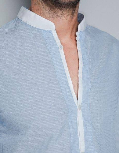 camisa 100%  algodón modelo g024