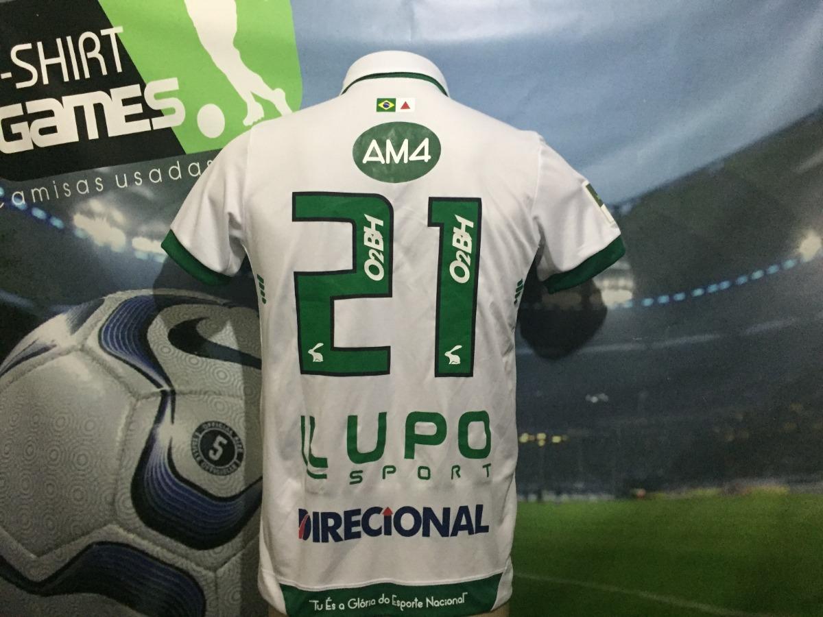 Camisa 2 Do América Mineiro Usada No Brasileiro 2018 Am4 . - R  270 ... 07c70c76dbd97