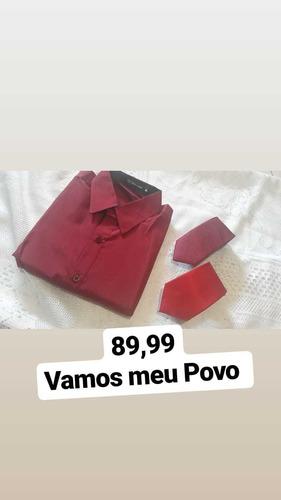 camisa + 2 gravata