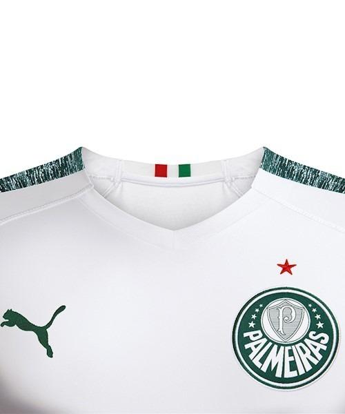 815b9dcac2 Camisa 2 Palmeiras 2019 2020 Nova Puma - R  159