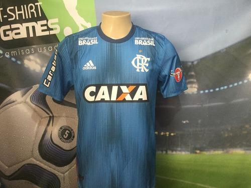 Camisa 3 Do Flamengo Usada Pelo H.dourado No Brasileiro 2018 - R ... 12086257d8f0e
