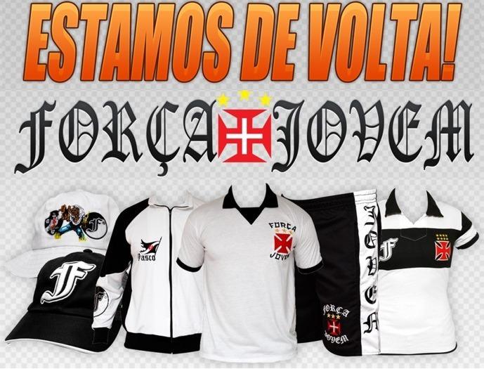 ffd544e6ba Camisa 47 Anos Torcida Força Jovem Vasco Fjv - R  69