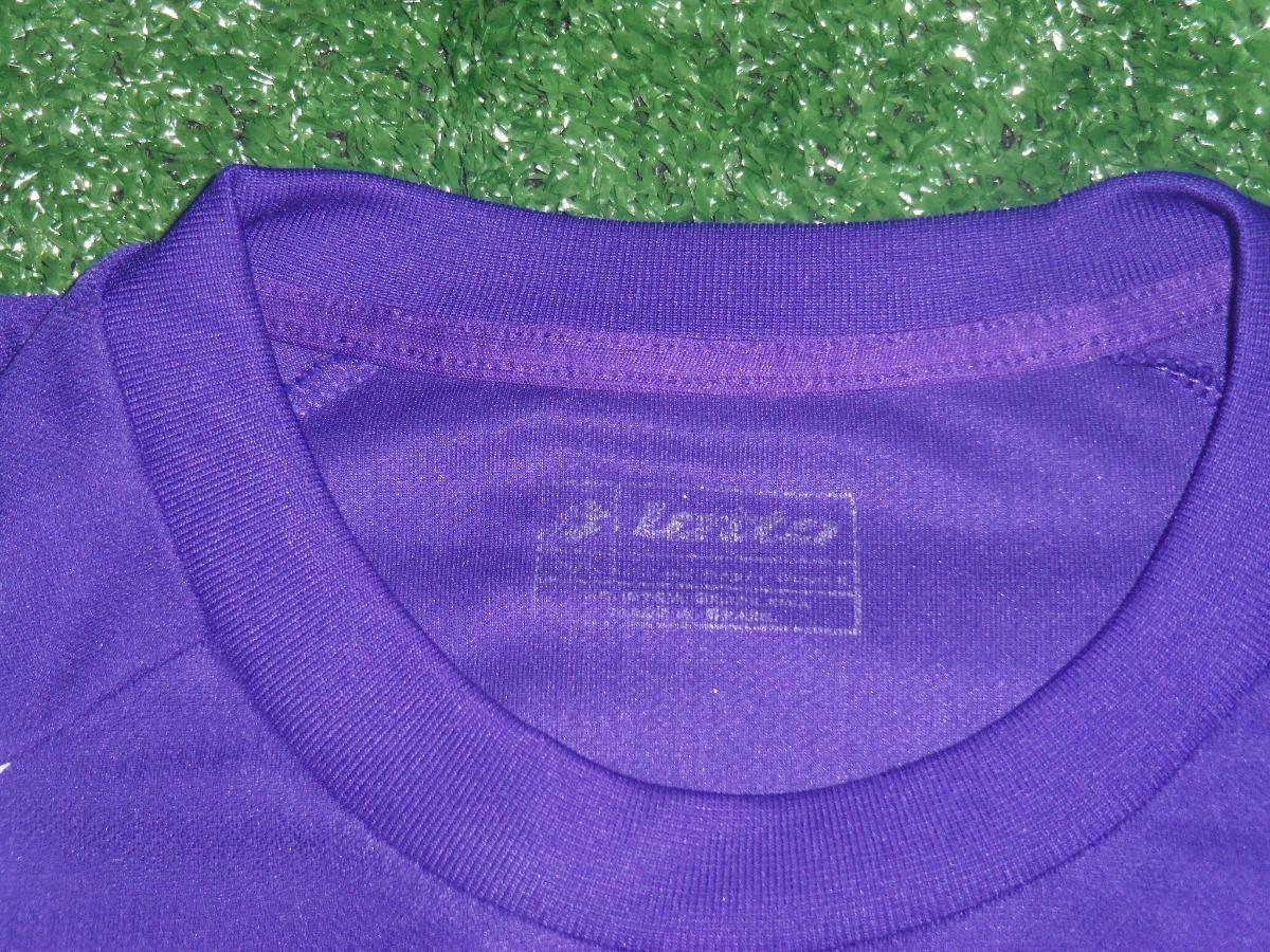 camisa a. c. f. fiorentina lotto passeio lilás. Carregando zoom. ae154e4e02e6c