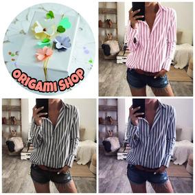cad7285f46a1 Camisas Rayadas Xxl Mujer - Ropa, Calzados y Accesorios en Mercado ...