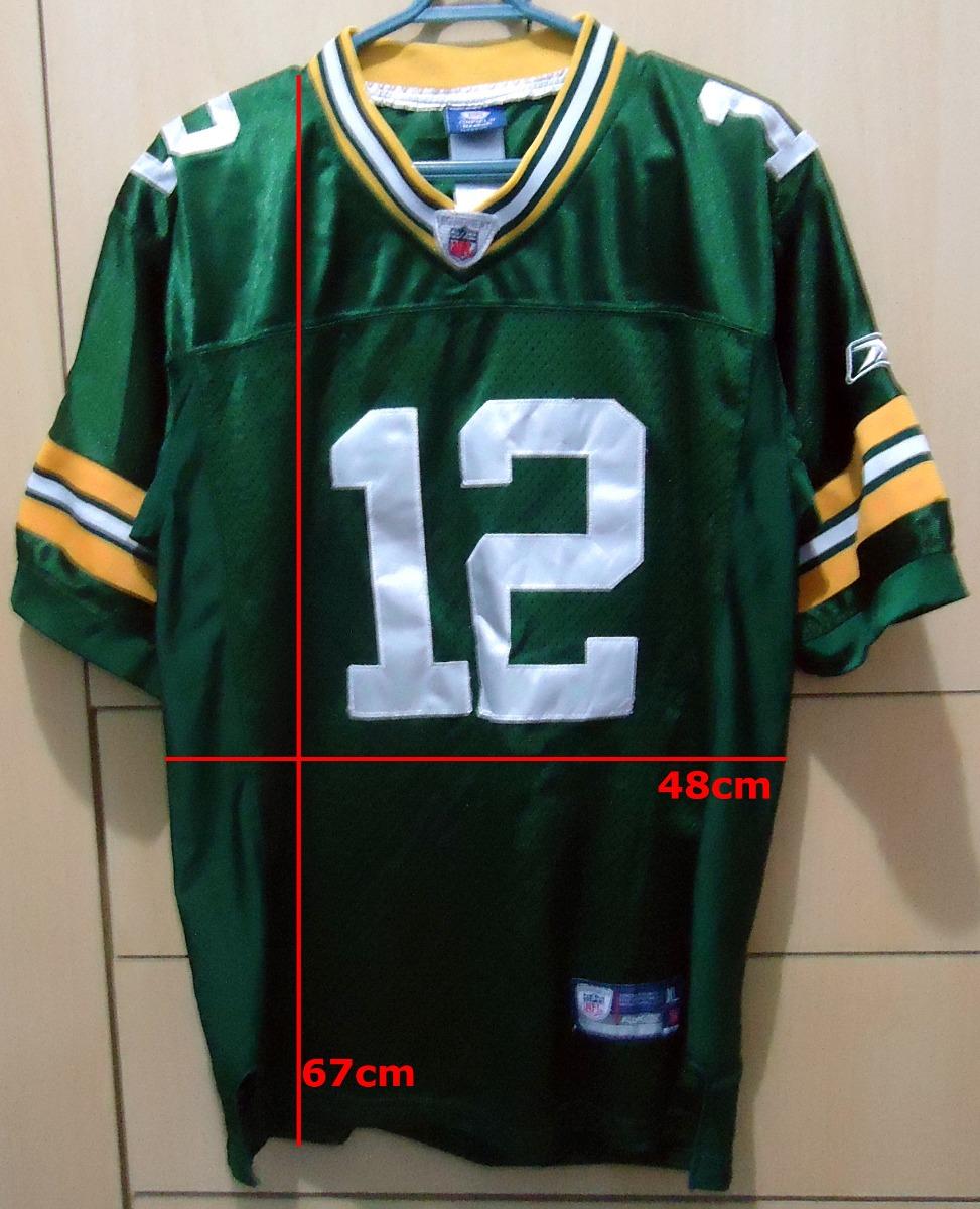 1a73eada3 camisa aaron rodgers green bay packers nfl jersey americano. Carregando  zoom.