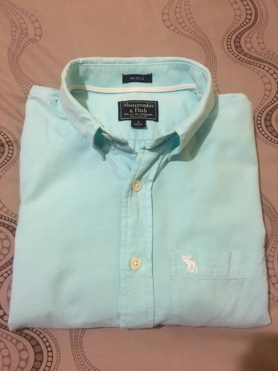ab8e2015f2 camisa abercrombie-hollister talla s. Cargando zoom.
